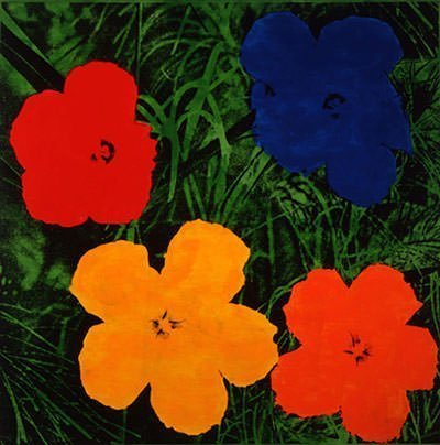 Flowers (1964) – Andy Warhol