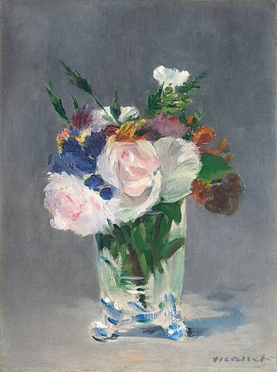 Flowers in a Crystal Vase (1882) – Edouard Manet